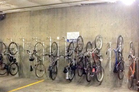 Garage w/ bike storage