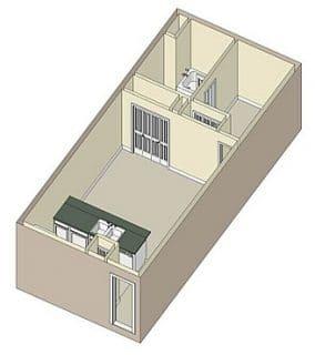 1 Bed / 1 Bath / 585 sq ft / Rent: $928